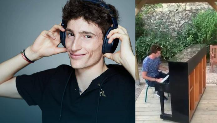 [VÍDEO] Humbert brilha também… ao piano