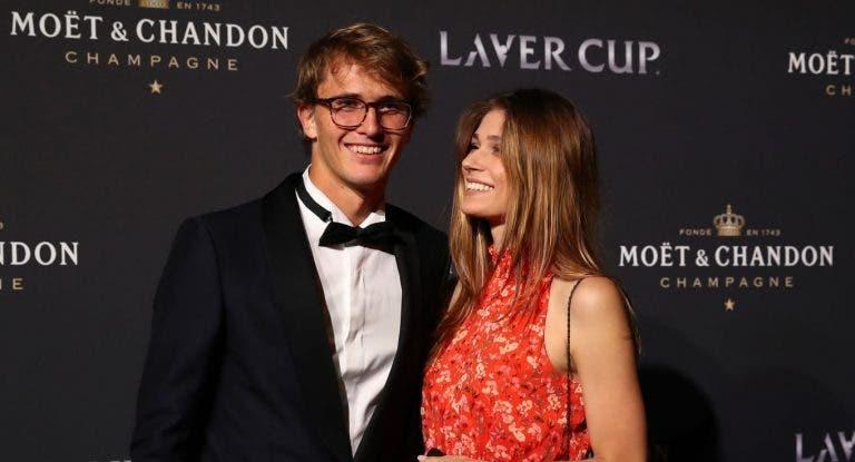 Ex-namorada de Zverev volta a acusá-lo e diz ter sido também agredida durante a Laver Cup