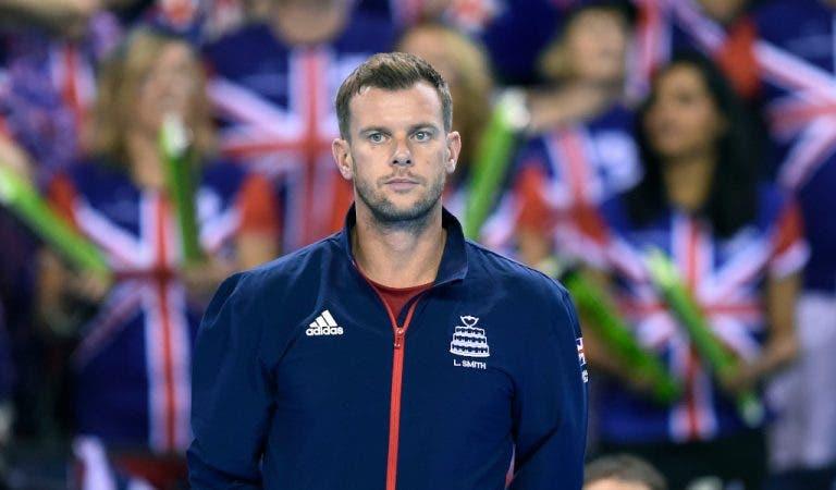 Capitão britânico sem dúvidas: «O2 Arena seria bom local para a Taça Davis»