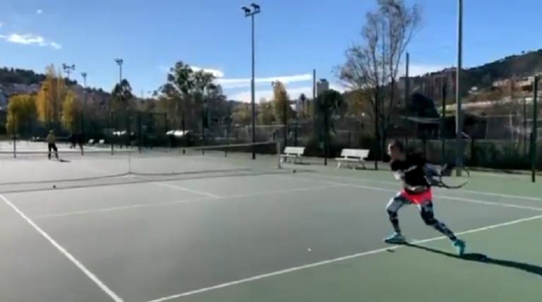[VÍDEO] Inspirador: Suárez Navarro joga enquanto luta contra o cancro