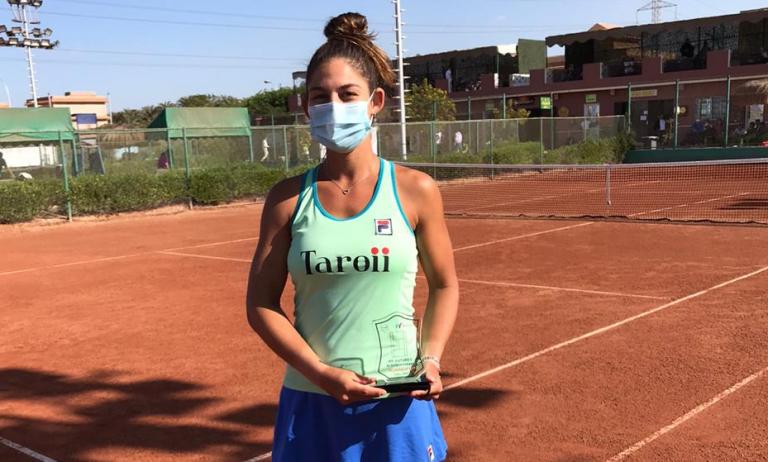 Carol Meligeni conquista segundo título em três semanas no Cairo