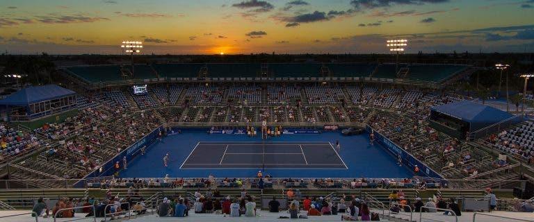 Delray Beach vai ter 2 mil pessoas por dia nas bancadas para abrir o ano ATP