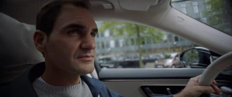 [VÍDEO] Federer é protagonista com Hamilton e Alicia Keys no novo anúncio da Mercedes