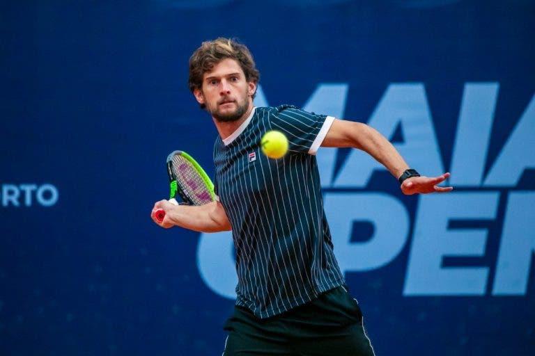 [VÍDEO] Pedro Sousa joga as meias-finais do Maia Open, em DIRETO