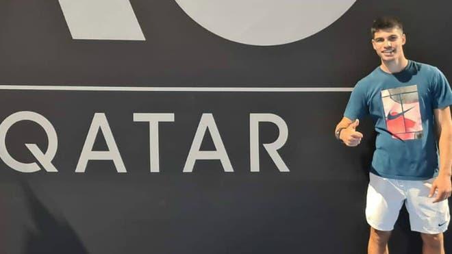 Alcaraz e a vitória histórica em Doha: «Estava muito nervoso»