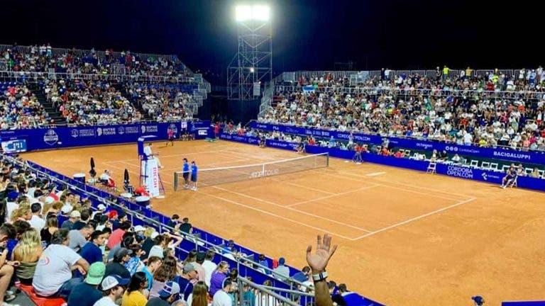 ATP de Córdoba vai acontecer em fevereiro mas sem espectadores