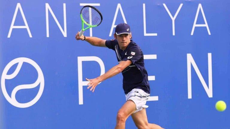 De Minaur e a grande caminhada no US Open: «Não me sentia bem»