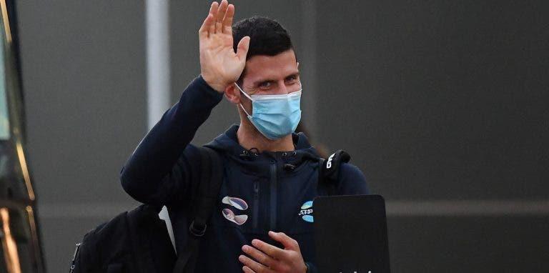 Qual a primeira coisa que Djokovic vai fazer quando terminar a quarentena? Ele não tem dúvidas