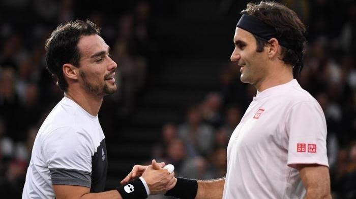 Fognini: «Adorava ver novamente o Federer, desculpem dizer mas ele é o ténis»