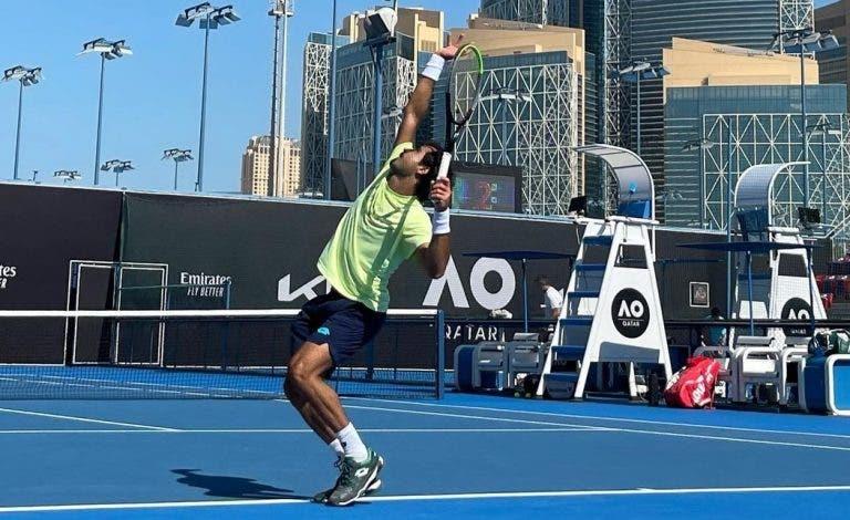 Frederico Silva feliz com a vitória e a adaptar-se ao novo Australian Open: «Temos de ser flexíveis»
