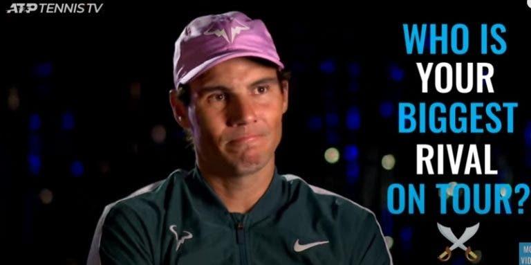 De Djokovic a Nadal: estrelas ATP revelam quem são os maiores rivais