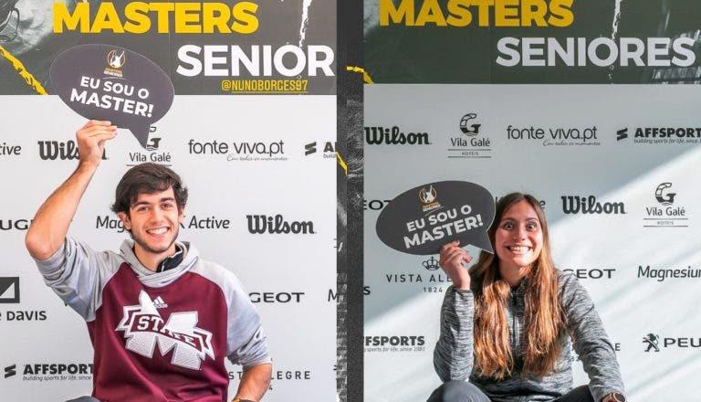 Francisca Jorge e Nuno Borges, campeões nacionais, triunfam também no Masters FPT