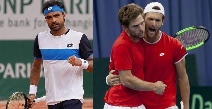Histórico: três portugueses num Grand Slam em singulares masculinos pela primeira vez
