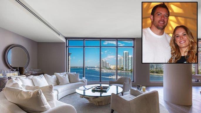 A impressionante casa de Wozniacki que custa 17,5 milhões de euros