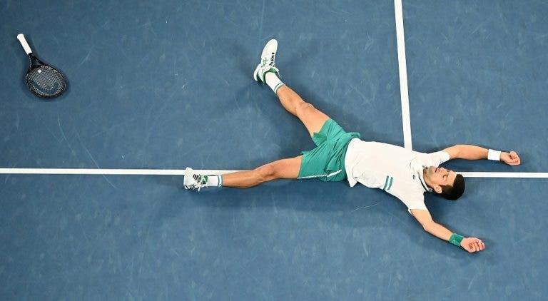 [VÍDEO] Foi em grande estilo que Djokovic conquistou o 18.º título do Grand Slam