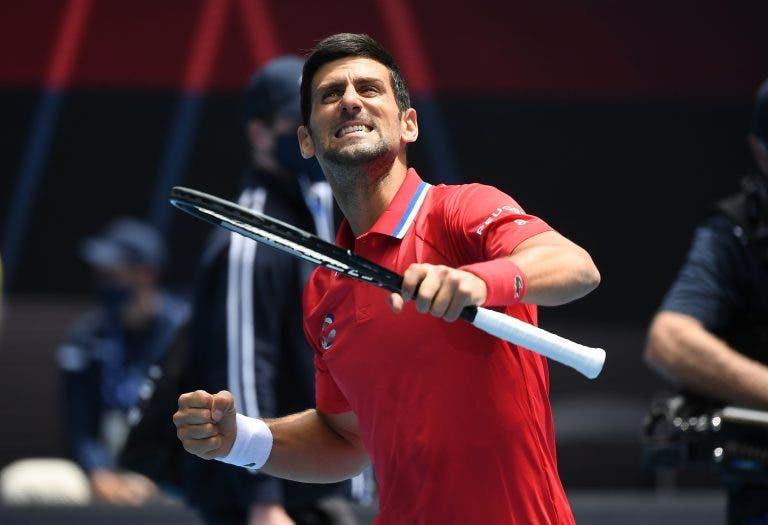 Djokovic: «Rod Laver Arena é o melhor court da minha carreira»