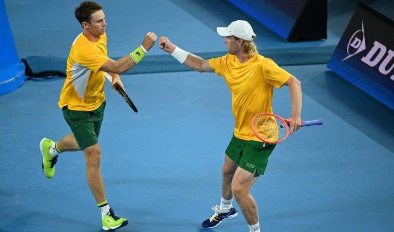 Já eliminada, Austrália derrota Grécia nos pares… e Espanha agradece