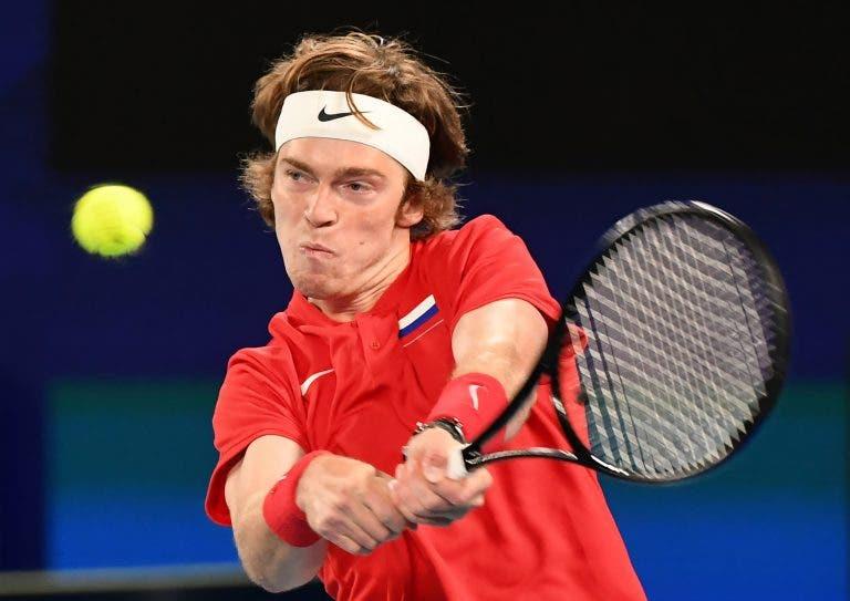 Rublev vence 12 dos últimos 15 jogos contra Struff e coloca Rússia mais perto da final da ATP Cup