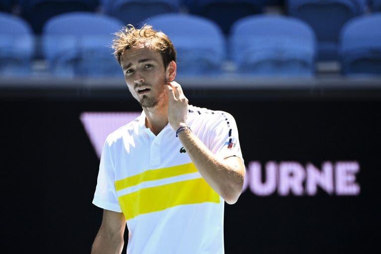 Medvedev: vitória frente a Rublev vale mais do que as meias-finais do Australian Open