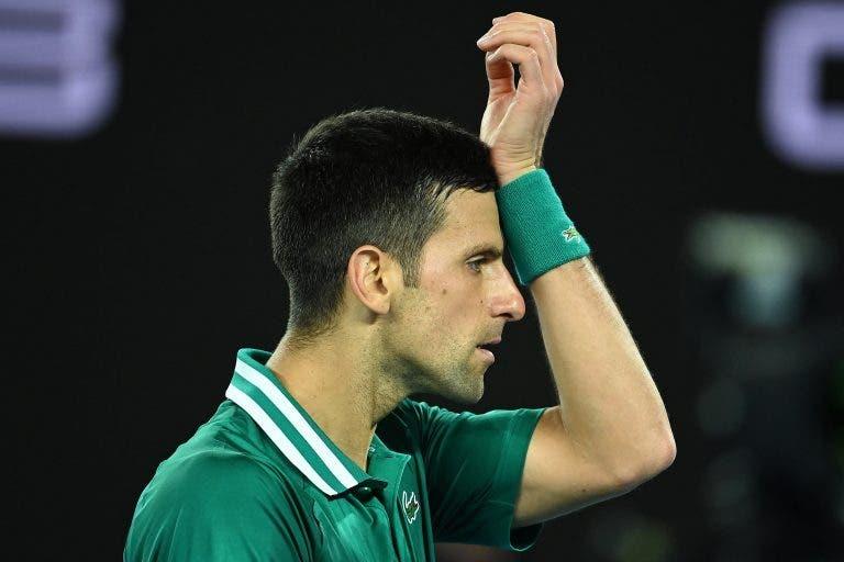 Ivanisevic revela a frase de Djokovic após saber que podia agravar a lesão se continuasse a competir
