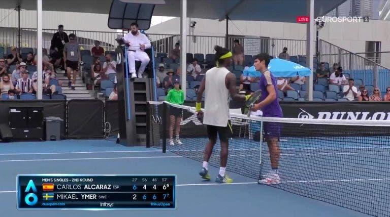 Caminhada do miúdo Alcaraz termina na 2.ª ronda do Australian Open