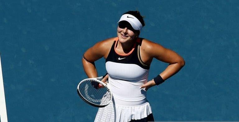 Andreescu arrasada por Hsieh na segunda ronda do Australian Open