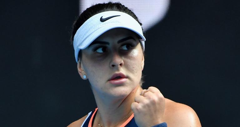 Ainda por Melbourne, Andreescu vence dura batalha rumo às meias-finais