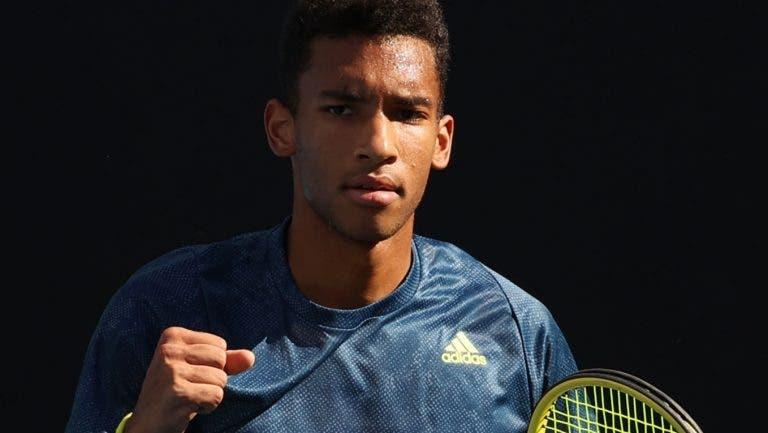 Auger-Aliassime bate Musetti e alcança primeira vitória com Toni Nadal do seu lado