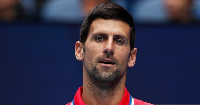 Djokovic explica desistência: «Não vou a Miami para ficar com a minha família»