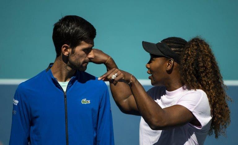 Djokovic: «Tenho orgulho de jogar ao mesmo tempo da Serena»
