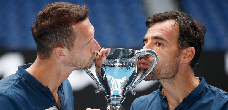 Dodig e Polasek conquistam no Australian Open o primeiro Slam juntos
