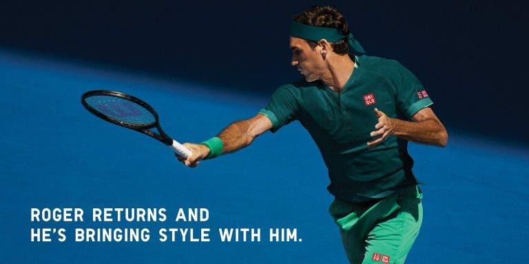 Federer já tem 'uniforme' escolhido para o regresso à competição