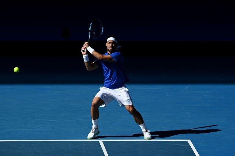 Fognini bate Paire e deixa Itália a um triunfo das 'meias' da ATP Cup