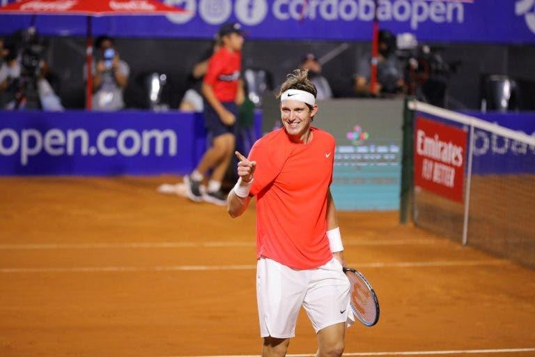 Jarry triunfa no seu primeiro encontro ATP 'pós-doping'