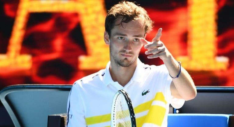 Federer, Djokovic ou Nadal? Medvedev responde com Messi e Ronaldo