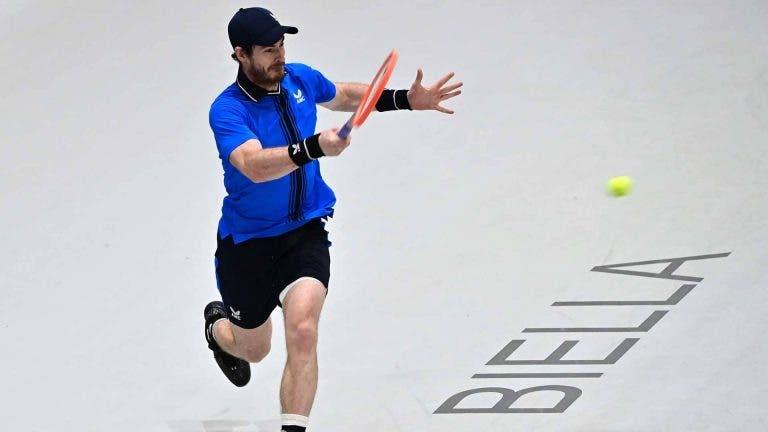 Murray faz melhor exibição da semana e está numa final 16 meses depois