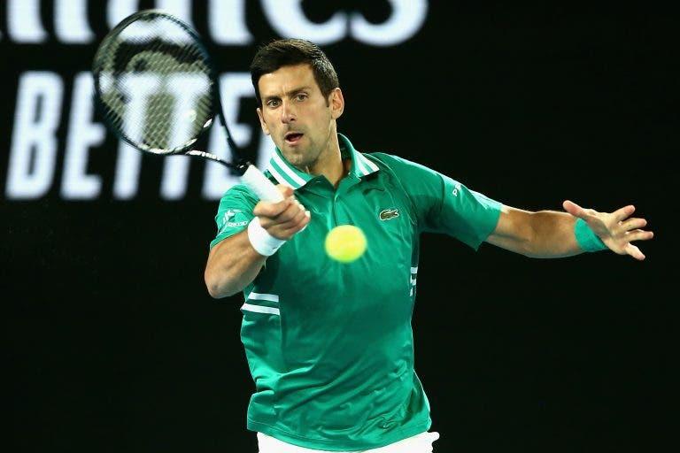 Batalha para resolver: Djokovic apanha Federer como rei do quinto set