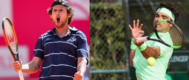Frederico Silva e Pedro Sousa já têm court e hora para a estreia no Australian Open