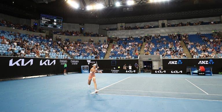 Australian Open vai perder 78 milhões de euros com a edição de 2021