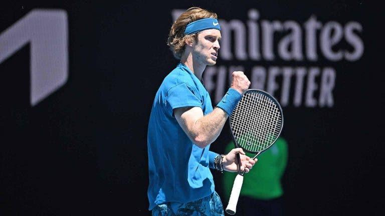 Rublev continua imparável em 2021; Coric também vence e está na 2ª ronda do Australian Open