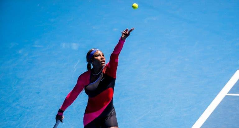 Serena Williams disparou serviço a 200km/h no Australian Open