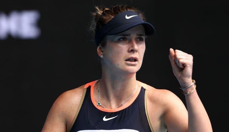 Svitolina dá pneu rumo aos 'oitavos' do Australian Open