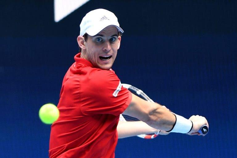 Thiem: «Ausência de Federer? É menos um adversário forte»