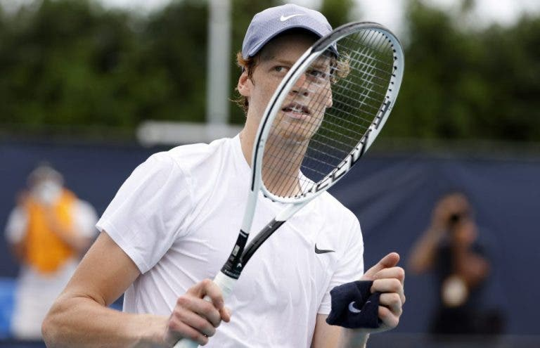 Sinner após primeiros quartos-de-final em Masters 1000: «Isto ainda não terminou»