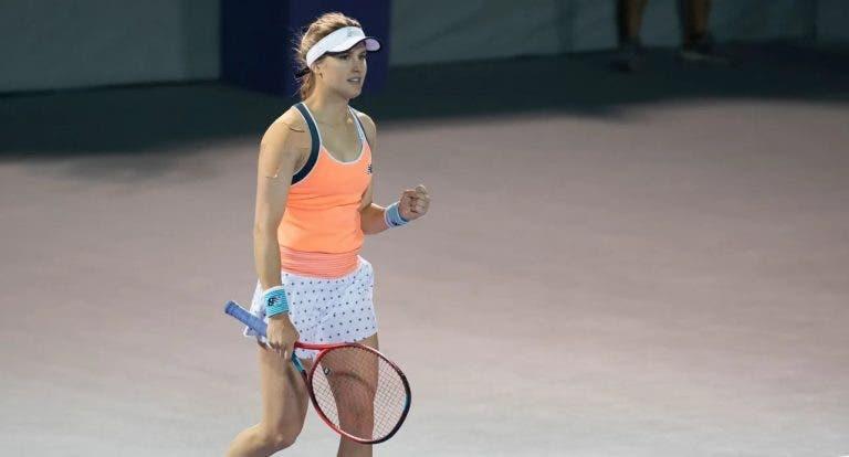 Bouchard a grande nível rumo à oitava final WTA da carreira