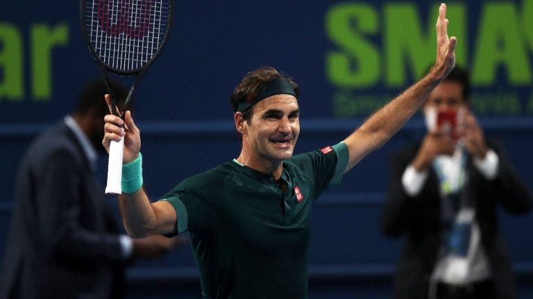 Federer e o regresso: «Se perdesse não ficava chateado mas sabe melhor vencer»