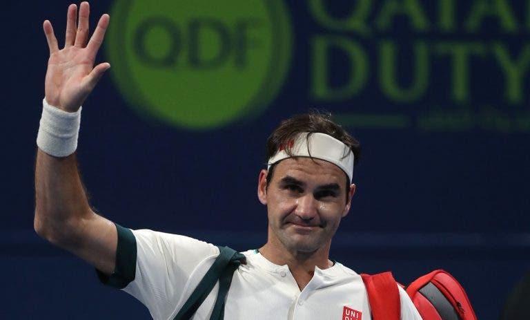 Cecchinato: «Espero que o Federer possa jogar ténis até aos 50 anos»