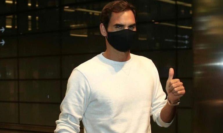 Roger Federer já conhece os possíveis adversários para o regresso à competição