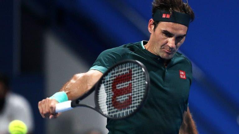 Federer desperdiça match point e cai aos pés de um surpreendente Basilashvili