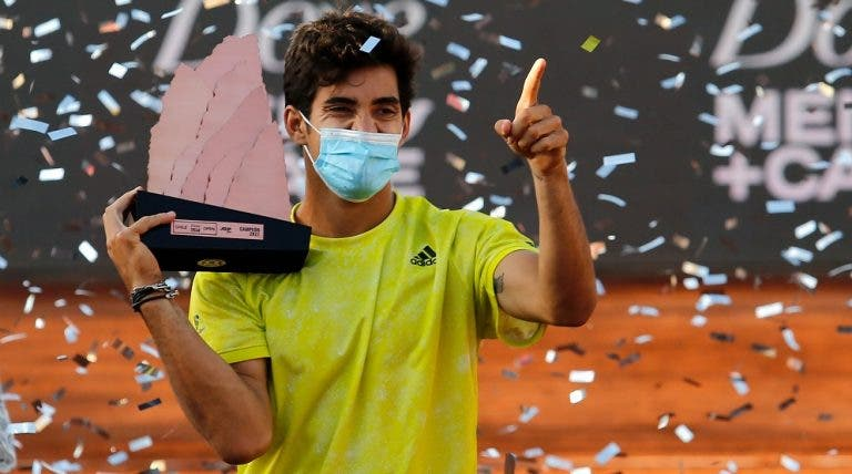 Cristian Garín: «Não esperava ganhar este título»